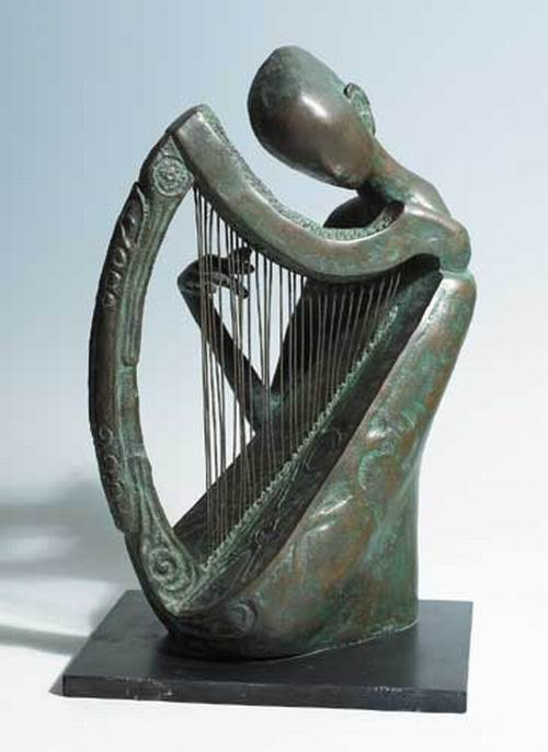 The Blind Harpist